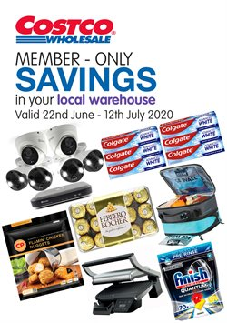 Supermarkets offers in the Costco catalogue in Birmingham ( Expires today )