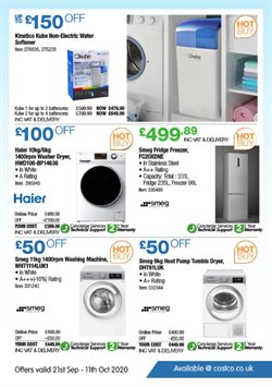 Offers of Hotpoint in Costco