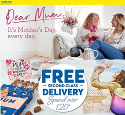 Mother's Day offers in the Card Factory catalogue ( 11 days left)