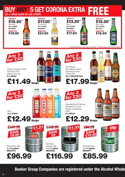 Beer offers in the Makro catalogue in London