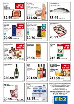 Ecological beer offers in the Makro catalogue in London