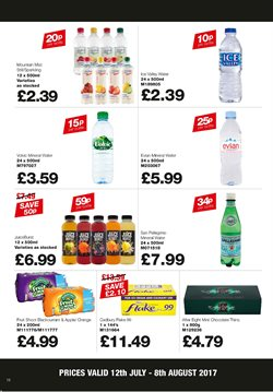 Beverages offers in the Makro catalogue in London