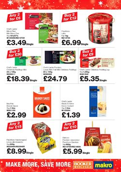 Christmas offers in the Makro catalogue in Hackney