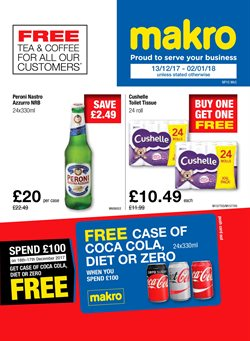 Supermarkets offers in the Makro catalogue in Aberdeen