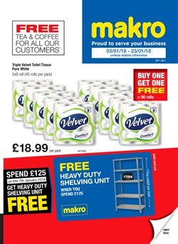 Shelving offers in the Makro catalogue in Belfast