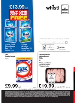 Finish offers in the Makro catalogue in London