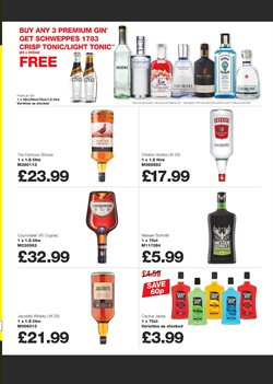 Spirits offers in the Makro catalogue in London