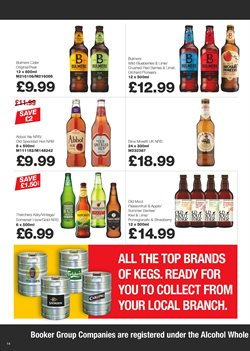 Beer offers in the Makro catalogue in Birmingham