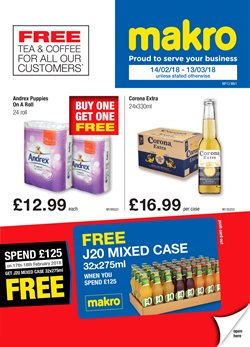 Supermarkets offers in the Makro catalogue in Birmingham