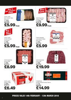 Eggs and dairy offers in the Makro catalogue in Liverpool