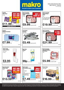 Bathroom offers in the Makro catalogue in London