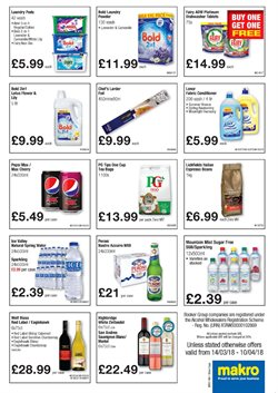 Bags offers in the Makro catalogue in Bristol