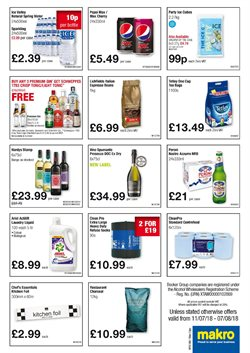 Liqueur offers in the Makro catalogue in London