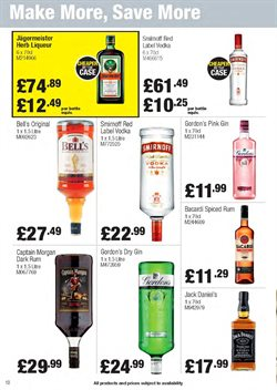 Gin offers in the Makro catalogue in London