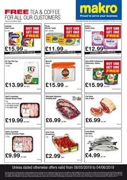 Supermarkets offers in the Makro catalogue in Cannock