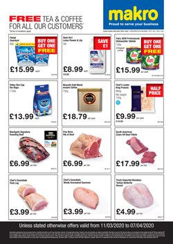 Supermarkets offers in the Makro catalogue in Belfast ( 6 days left )