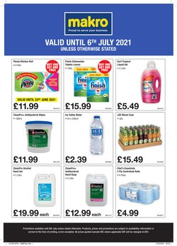 Supermarkets offers in the Makro catalogue ( 18 days left)
