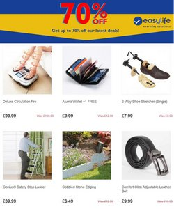Home & Furniture offers in the Easylife catalogue ( Published today  )