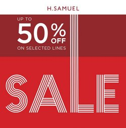 Clothes, Shoes & Accessories offers in the H. Samuel catalogue ( Published today)
