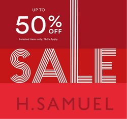 H. Samuel offers in the H. Samuel catalogue ( Expires tomorrow)