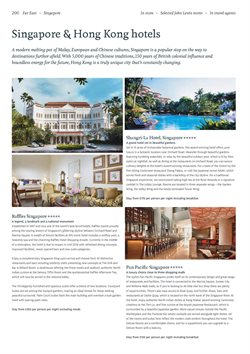 Offers of Destinations in Kuoni