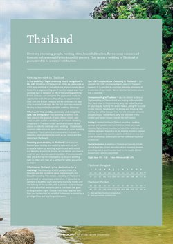 Phuket offers in the Kuoni catalogue in London