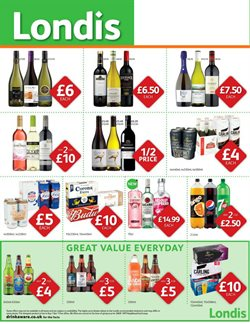Beer offers in the Londis catalogue in York