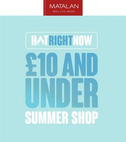 Clothes, Shoes & Accessories offers in the Matalan catalogue ( 1 day ago)