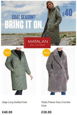 Matalan offers in the Matalan catalogue ( Expires today)