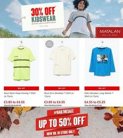 Matalan offers in the Matalan catalogue ( 1 day ago)