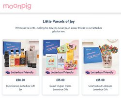 Department Stores offers in the Moonpig catalogue ( 6 days left)