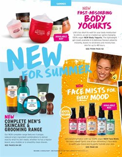 Gel offers in the The Body Shop catalogue in Aberdeen