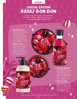 Gel offers in the The Body Shop catalogue in Stoke-on-Trent