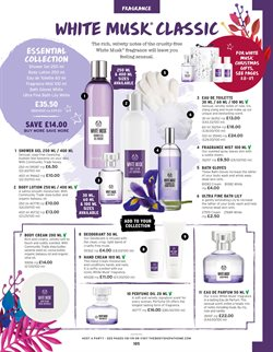 Perfumery offers in the The Body Shop catalogue in Aberdeen