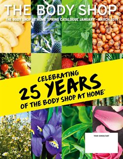 The Body Shop offers in the London catalogue