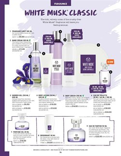 Perfumery offers in the The Body Shop catalogue in London
