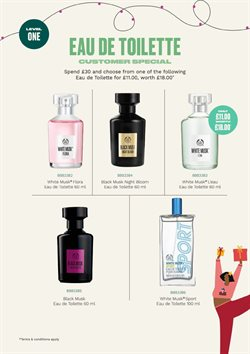 Offers of Givenchy in The Body Shop