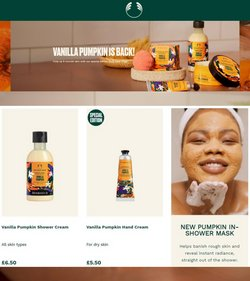Pharmacy, Perfume & Beauty offers in the The Body Shop catalogue ( Expires today)