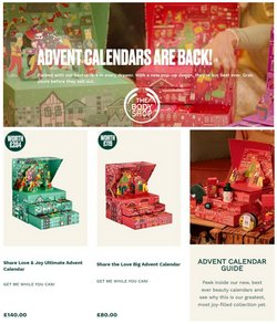 Pharmacy, Perfume & Beauty offers in the The Body Shop catalogue ( 5 days left)