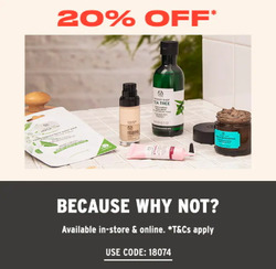 The Body Shop coupon ( Published today  )