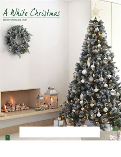 Christmas tree offers in the Homebase catalogue in London