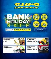Euro Car Parts In Hackney Voucher Codes Offers