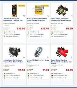 Car offers in the Euro Car Parts catalogue in London