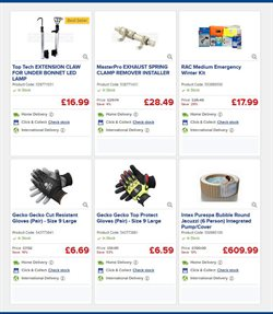 Exhaust offers in the Euro Car Parts catalogue in London