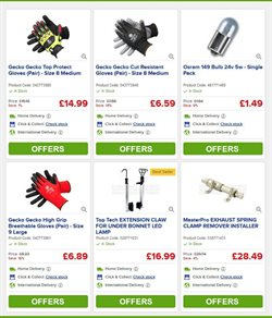 Exhaust offers in the Euro Car Parts catalogue in Aldershot