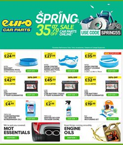 Cars, motorcycles & spares offers in the Euro Car Parts catalogue in London