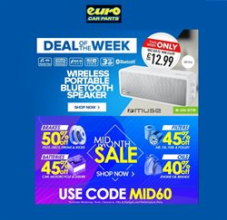 Euro Car Parts offers in the London catalogue