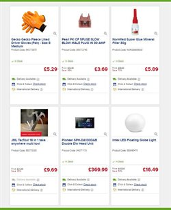 Offers of Globe in Euro Car Parts