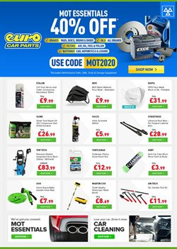Cars, Motorcycles & Spares offers in the Euro Car Parts catalogue in Nottingham ( 11 days left )