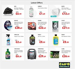 Cars, Motorcycles & Spares offers in the Euro Car Parts catalogue in Manchester ( 4 days left )